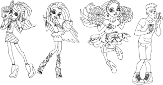 monster-high-coloring-pages-cheerleaders